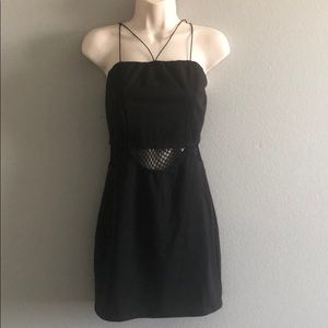LF BSBW  Black Cutout Mini Dress